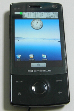 Touch Diamond S21HT Android